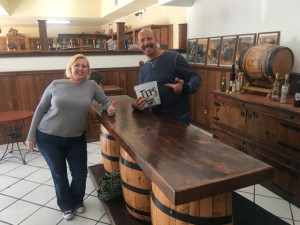 Taste Testing at the Tequila Factory
